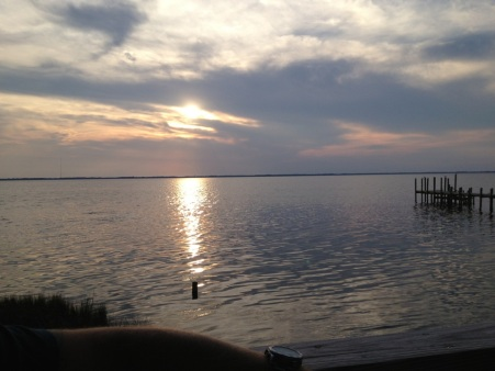 Sunset on the sound...Outer Banks, NC
